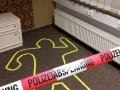 """Fundort der Leiche im """"Zimmer 303"""""""