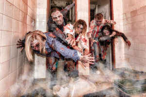 Zombie apocalipse photo shoot